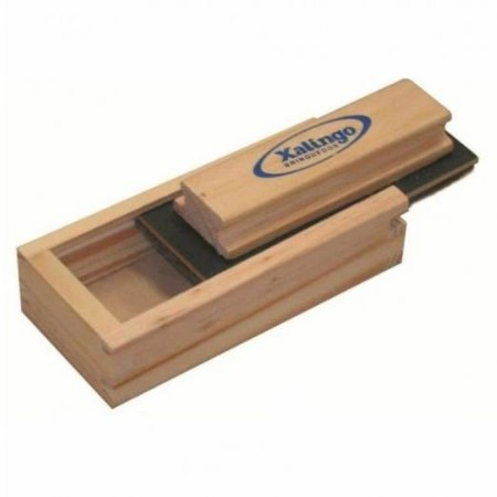 Apagador de madeira com caixa para giz - Xalingo