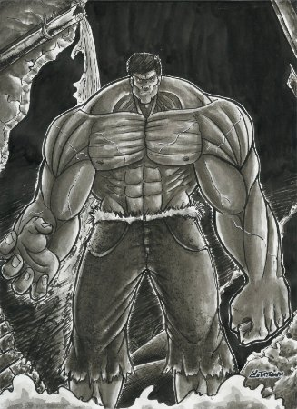 Incrível Hulk, Marvel | Fan Art