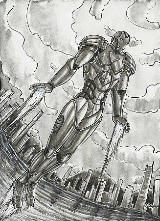 Homem de Ferro, Marvel   Fan Art