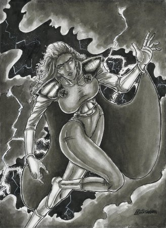 Tempestade, X-Men |Fan Art