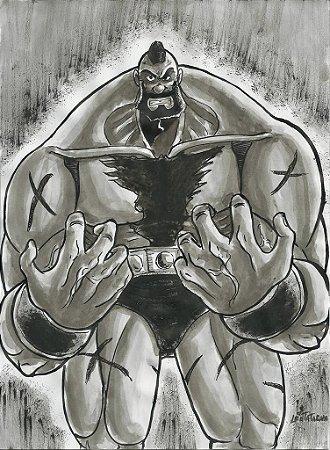 Zangief, Street Fighter   Fan Art