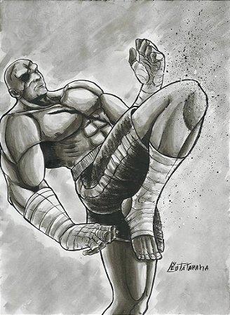Sagat, Street Fighter | Fan Art