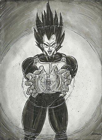 Vegeta, Dragon Ball Z | Fan Art