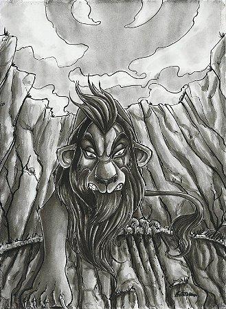 Scar, O Rei Leão   Fan Art