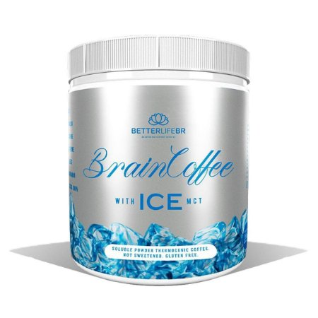 BrainCoffee Ice With Mct/200g - Betterlife