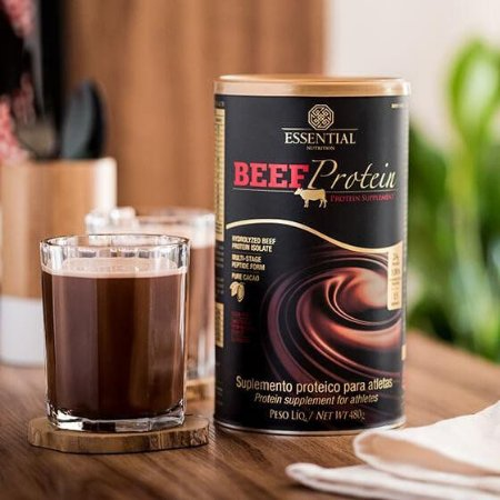 BEEF Protein Cacao 480g / Essential