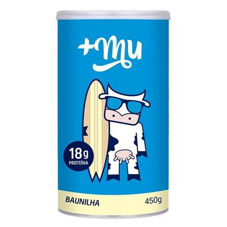+ Mu Whey Protein Sabor Baunilha 450g