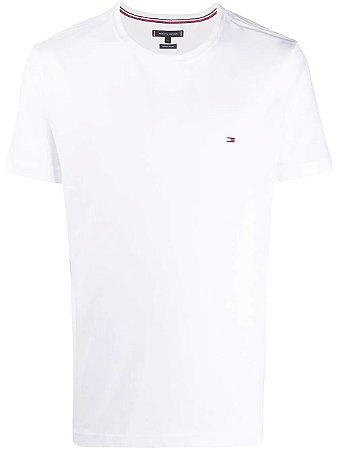 Camiseta Tommy  Básica com logo bordado