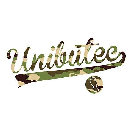 Adesivo Unibutec Logo Classic Camuflada 26,5 x 12,5cm