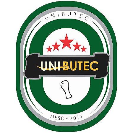 Adesivo Unibutec 2018 Preto 16x14cm