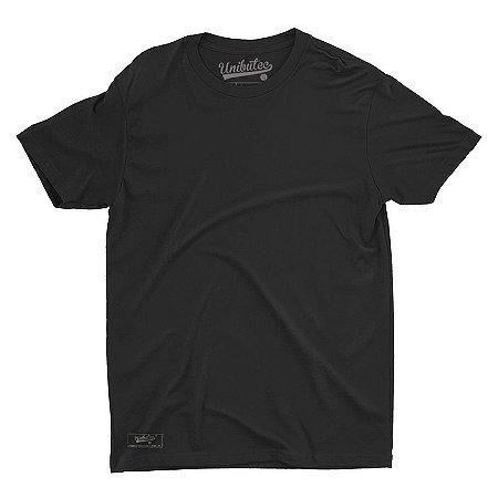 Camiseta Unibutec Basic Preta Lisa