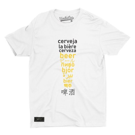 Camiseta Unibutec Hops Cervejas