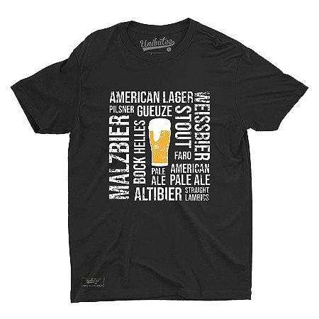 Camiseta Unibutec Hops Cervejeiro