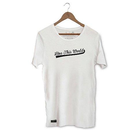Camiseta Unibutec Live This World Basic