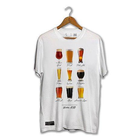 Camiseta Unibutec Tipos de Cerveja