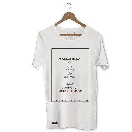 Camiseta Unibutec Hops Mete o Loco