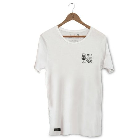 Camiseta Unibutec Cerveja e Lúpulo Bolso