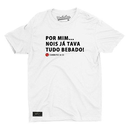 Camiseta Unibutec Tudo Bêbado