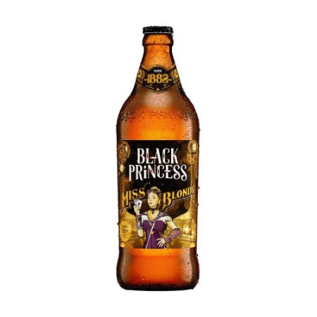 Cerveja Black Princess Miss Blonde 600ml