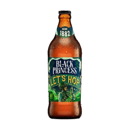Cerveja Black Princess Let's Hop 600ml