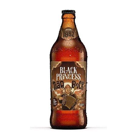 Cerveja Black Princess Tião Bock 600ml