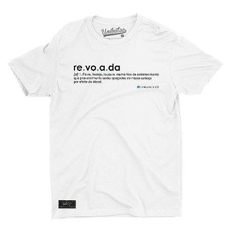 Camiseta Unibutec Revoada Significado Branca