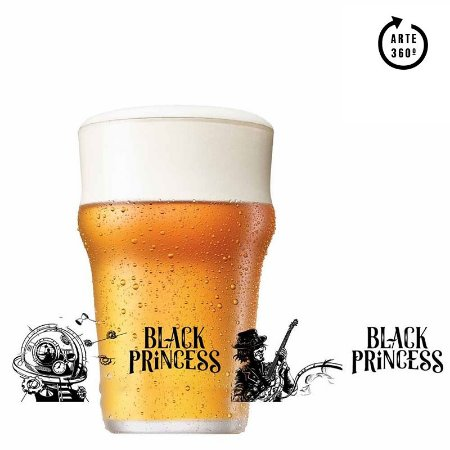 Copo de Cerveja Black Princess Let's Hop 580ml