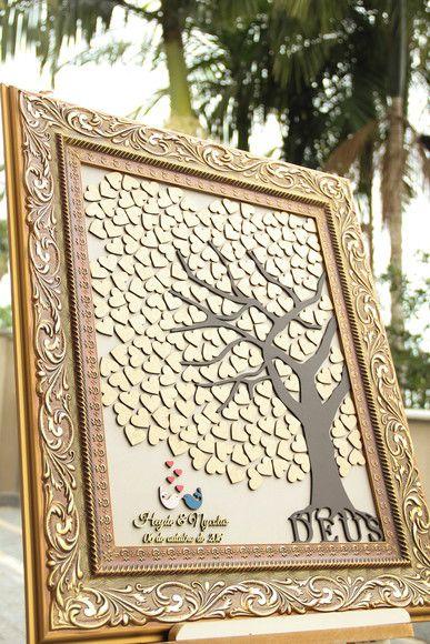 Árvore de assinaturas - 200 corações