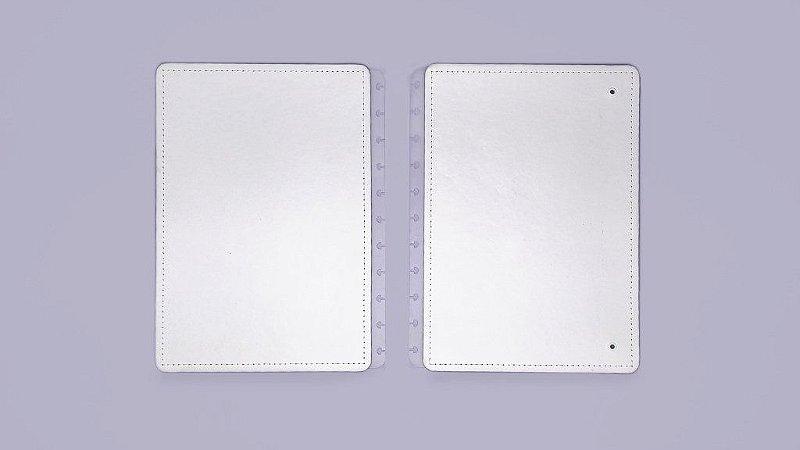 Capa e Contracapa para caderno inteligente All White - Grande