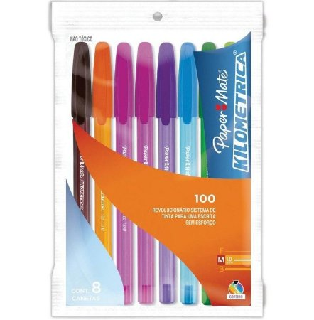 Caneta Paper Mate 100 Colorz 08UN