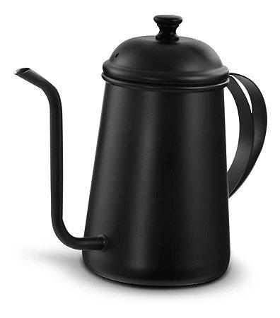 Chaleira de Café Bico fino Preta 700ml Mimo Style
