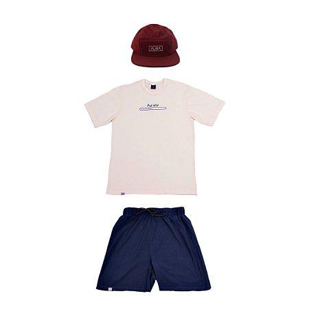 KIT 4 (Camiseta, Boné e Bermuda)