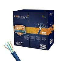 CABO REDE CAT5 (1M) LAN EXPERT 24AWG CMX PRETO 29507