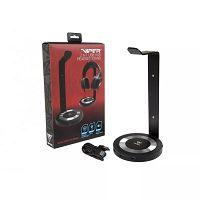 SUPORTE PARA HEADSET COM HUB USB 3.0 SAIDA DE SOM PATRIOT VIPER GAMING 3