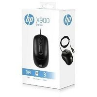 MOUSE USB HP X900 PRETO