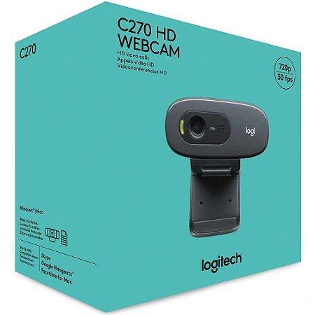 WEBCAM 720P LOGITECH C270 960-000694