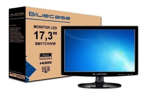 MONITOR 17 BLUECASE LED BM17D2HVW (VGA/HDMI)