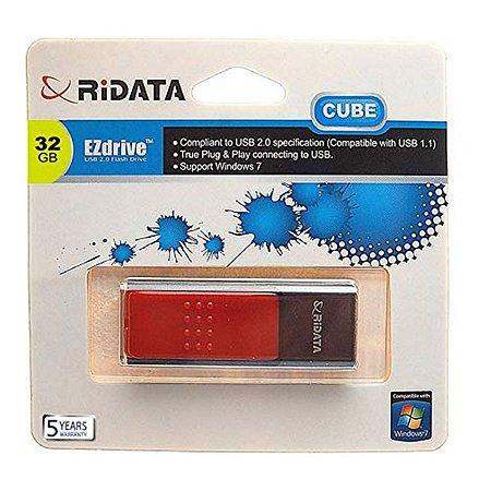 PEN DRIVE 32GB USB 2.0 CUBE RIDATA @