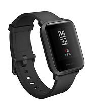 RELOGIO SMART WATCH XIAOMI AMAZFIT BIP A1915 PRETO @