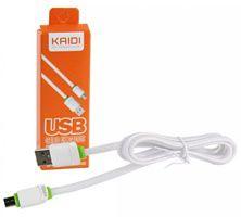 CABO MICRO USB 1M KAIDI KD-305