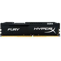 MEMÓRIA DDR4 8GB 2400MHZ KINGSTON HYPER X FURY BLACK @