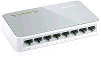 SWITCH REDE 8 PORTAS 10/100MBPS TP-LINK TL-SF1008D @