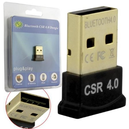 ADAPTADOR USB MINI BLUETOOTH 4.0 AD0375