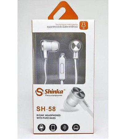 FONE DE OUVIDO SHINKA SH-FO-550