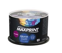 DVD+R DUAL LAYER PRINT MAXPRINT 50608-5