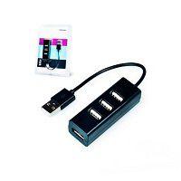 HUB USB 2.0 4 PORTAS EXBOM SLIM 02490
