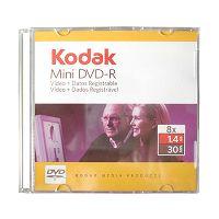 MINI DVD-R LOGO 1.4GB KODAK LACRADO