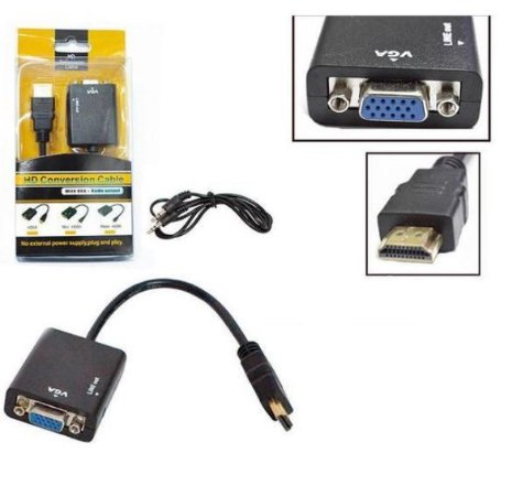 CABO CONVERSOR HDMI PARA VGA CB0109B