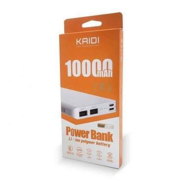 POWER BANK 1000MAH KAIDI KD-172S CINZA