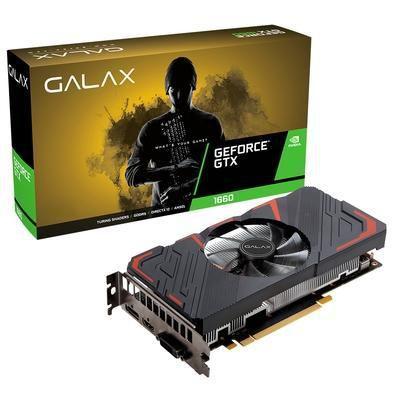 PLACA DE VÍDEO GEFORCE GTX1660 6GB DDR5 GALAX PRODIGY 60SRH7DS20PY
